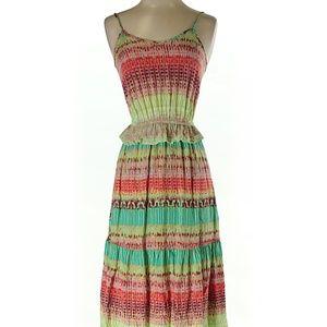 Dresses & Skirts - Long Bohemian Mini-Peplum Dress